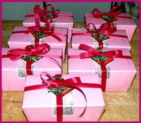 Pink Candy Boxes