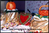 october pumpkin table