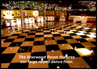 Magnificent large Dance Floor at the Sherwood Room