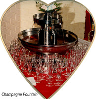Vintage Champagne Fountain